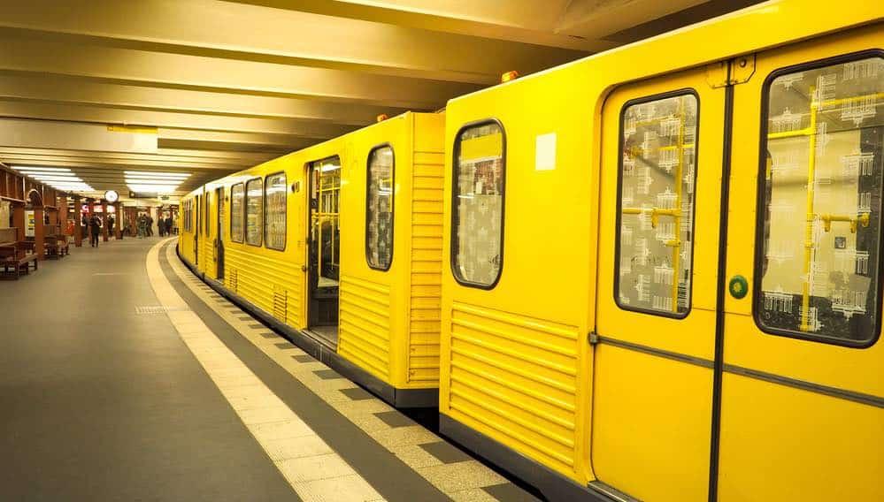 Ondergronds Metrostation In Berlijn