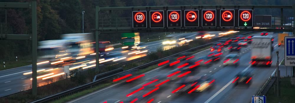 snelweg in Duitsland