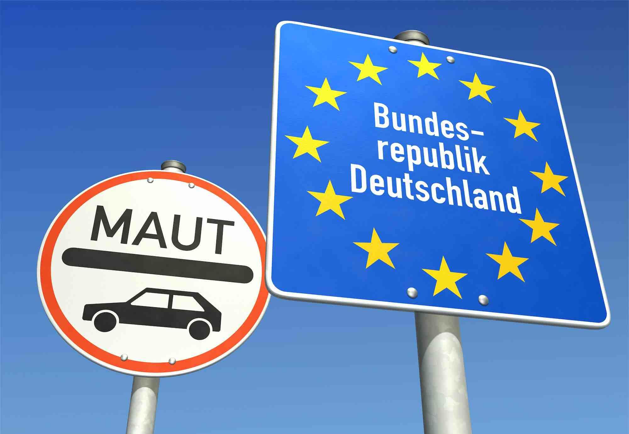 Vignet Duitsland