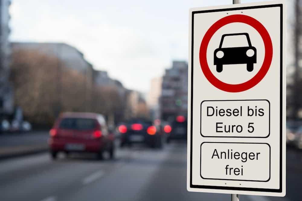 Dieselverbod in Duitsland